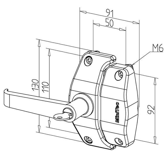 Rotary Lock Diagram