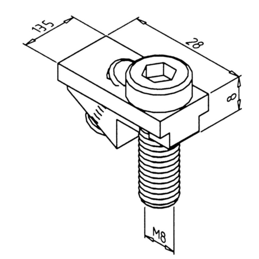 Mini Tec Power Lock Fastener 45 Stainles 21 10181